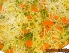 supa de gaina cu fidea Romanian Food, Romanian Recipes, Tomato Relish, Pasta, Potato Dishes, Seaweed Salad, Japchae, Curry, Food And Drink