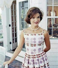 """mylittlevintageworld: """"Jacqueline Kennedy """" I can't remember having ever seen this picture before."""