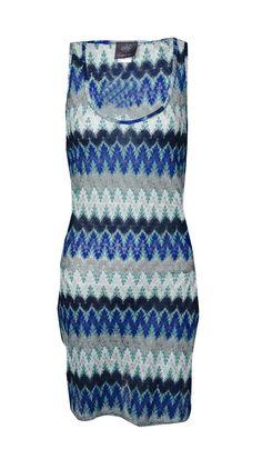 Elif for Jordan Taylor Women's Side Wrap Tank Dress Cover-Up