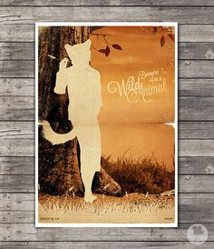 Fantastic Mr. Fox - Wes Anderson Poster - Vintage Style Magazine Print movie quotes Cinema Studio Watercolor Background - Pick your Size