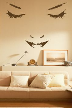 Nao Woman Wall Decal by WALLTAT.com