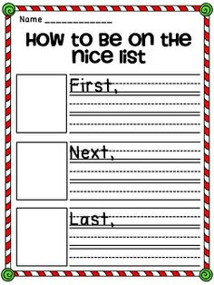 How to be on the nice list how-to writing
