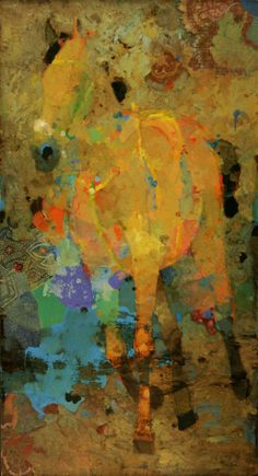 ♞ Artful Animals ♞ bird, dog, cat, fish, bunny and animal paintings - Horse Out for a Run by Mark English Cow Art, Horse Art, Horse Quilt, Virtual Art, Abstract Animals, Equine Art, Western Art, Animal Paintings, Contemporary Art