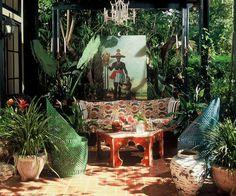 Loving the tribal beat (via @Pinterest). #Design #Botanical
