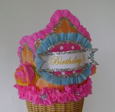 Birthday Crown/Hat  BIRTHDAY GIRL or customize  by glamhatter