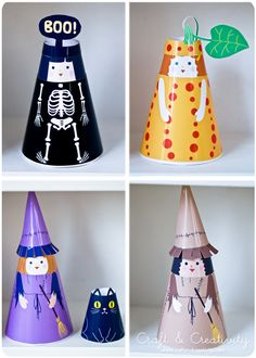 """Mr Printables Paper Dolls, free printable - by Craft & Creativity.looks great for staying home from school """"sick"""" day. Paper Doll Craft, 3d Paper Crafts, Doll Crafts, Paper Toys, Bead Crafts, Crafts For Kids, Fete Halloween, Holidays Halloween, Halloween Treats"""