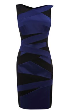 Cocktail dress karen millen navy