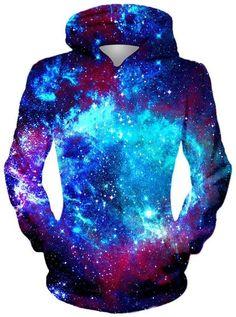 On Cue Apparel - Blue Galaxy Hoodie Galaxy Outfit, Galaxy Shoes, Galaxy Hoodie, Galaxy Fashion, Galaxy Print, Cool Hoodies, Blue Hoodie, Comfortable Fashion, Swagg