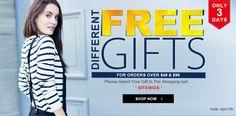 No post de hoje tem muitas promoções da romwe.com, o que acham de dar uma olhadinha.  Ah! Não esquece de clicar nos links das peças certo!!   http://blogdajeu.com.br/wishlist-romwe-free-gifts/  #romwe #roupas #clothings #moda #estilo #style #fashion #fashionblogger #freegifts #promocao #sale