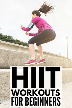 Whether you work out at home or at the gym, these HIIT workouts for beginners will help you burn more calories in less time. A combination of cardio, weights & quick, effective exercises, these fat burning high intensity interval training exercises will give you a full body workout for serious results. Sick of running on the treadmill or sweating through an hour on the elliptical machine? Challenge yourself to a 30-day HIIT challenge! #hiit #hiittraining #hiitworkout #weightloss #cardio…