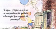 Winnie the pooh. Frases Disney, Disney Quotes, Flirting Quotes For Her, Flirting Texts, Winnie The Pooh Quotes, Quotes En Espanol, Mo S, Disney Dream, Spanish Quotes