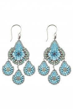 lightweight #chandelier #earrings, perfect for adding a fresh, glamorous vibe to any outfit I NEWONE-SHOP.COM