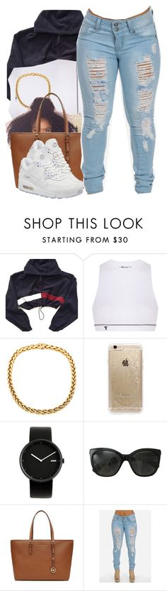 """Untitled #344"" by nanuluv ❤ liked on Polyvore featuring T By Alexander Wang, Rifle Paper Co, Alessi, Chanel, MICHAEL Michael Kors and NIKE"