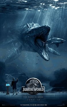jurassicworldmovie: Don't tap on the glass. Jurassic World is in theaters June 12 - get your tickets today.