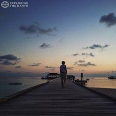 Exploration & Photo by @polylm Location / Alimatha, Maldives