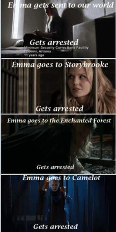 Emma + Jail Cells