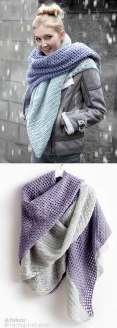 Crochet Blanket Scarf Pattern Tutorials