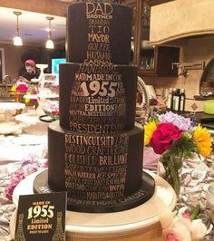 60th male birthday cake
