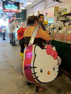 Hello Kitty bag-you know when you need to hide multiple bodies