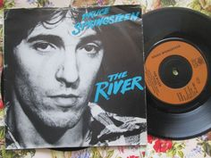 Bruce Springsteen – The River CBS Records CBS A1179 UK 7 inch Vinyl Single