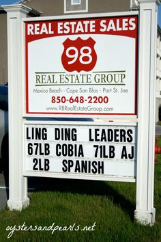 Mexico Beach Real Estate Group Ling Ding Fishing Tournament