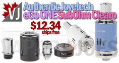 REAL DEAL! – Joyetech eGo ONE Sub-Ohm Clearomizer – $12.34