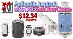 REAL DEAL! – Joyetech eGo ONE Sub-Ohm Clearomizer – $12.34