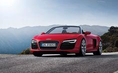 We're loving the new 2013 Audi R8 Spyder