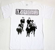 SPECIALS THE SPECIALS 1979 NEW WHITE T-SHIRT