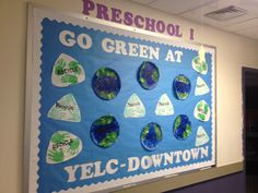 Go Green Bulletin Board