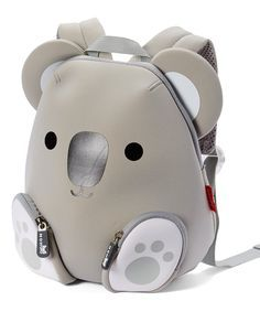 Take a look at this Gray Koala Backpack today!Another great find on Gray Koala Backpack by NoohooThis friendly animal backpack keeps your little one company as they learn and boasts a waterproof construction for drizzly days. Animal Backpacks, Cute Backpacks, 0 Bag, Novelty Bags, Animal Bag, Kids Bags, Cute Bags, Backpack Bags, Fashion Bags
