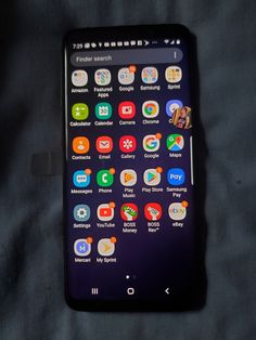 Galaxy unlocked for any carrier new witch box and all that it come new witch it Samsung Galaxy Phones, Samsung S9, Islamic Wallpaper Hd, Cool New Gadgets, Android Codes, Cute Pastel Wallpaper, Clipboards, Phone Plans, Phone Organization