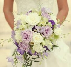 Lavender and ivory
