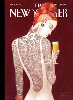 """Back Story,"" by Lorenzo Mattotti New cover The New Yorker, read here more about this cover. Art Editor Françoise Mouly (read here about her book 'Blown Covers' New Yorker Covers You Were Never Meant to See) Creative director Wyatt Mitchell"