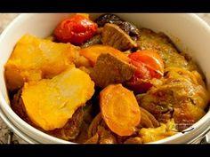tas kebab (tas kabab) Eggplant stew recipe