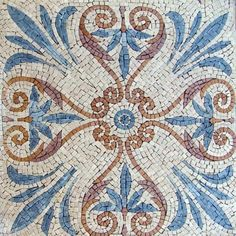 14x14 Accent Piece Marble Mosaic Stone Art Tile by mozaico. $100.00. Mosaics have endless uses and infinite possibilities! They can be used indoors or outdoors, be part of your kitchen, decorate your bathroom and the bottom of your pools, cover walls and ceilings, or serve as frames for mirrors and paintings.
