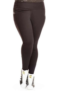 dea5383f0e9983 City Chic Full Length Sport Leggings (Plus Size) Plus Size Workout, Sports  Leggings
