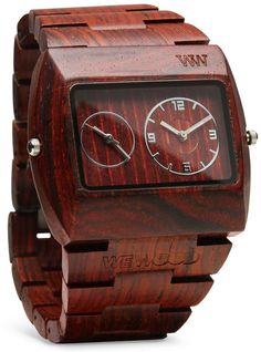 ThinkGeek :: WeWood Jupiter Watch. I would rock this!