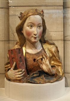 Reliquary Bust of Saint Barbara