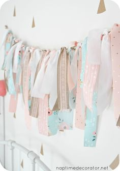 This is one of the easiest but sweetest (and thriftiest!) little projects - seriously, anyone can do this one, and it'll only set you back about ten bucks! If you can tie a piece of ribbon in a kno...