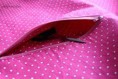 how to sew an inner zipper pocket