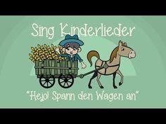 Hejo, spann den Wagen an - Kinderlieder zum Mitsingen | Sing Kinderlieder - YouTube