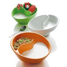 Brookstone® Obol® the Never-Soggy Cereal Bowl