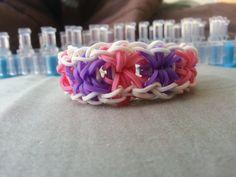 Love this pattern! Starburst Rainbow Loom Bracelet by RainbowLoomLover on Etsy, $4.00
