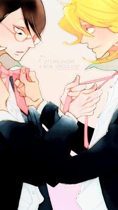 Doukyuusei // Kusakabe x Sajou All Anime, Anime Guys, Manga Anime, Anime Art, Nakamura Asumiko, Future Boy, Animes On, Film D'animation, Shounen Ai