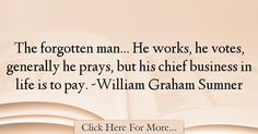 William Graham Sumner Quotes About Business - 8134