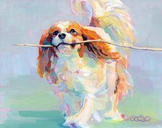 Pastel Paintings - Fiddlesticks by Kimberly Santini