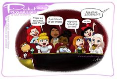 Disney Princesses And Princes, Pocket Princesses, Disney Time, Disney Magic, Disney Girls, Disney Stuff, Disney Fan Art, Disney Pixar, Funny Disney