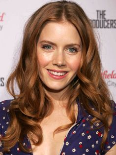 How to Make the Most of Your Natural Red Hair Amy Adams, The Producers premiere, 2005 Cabello Color Magenta, Magenta Hair Colors, Hair Color Auburn, Auburn Hair, Red Hair Color, Brownish Red Hair, Purple Hair, Natural Red Hair, Long Red Hair