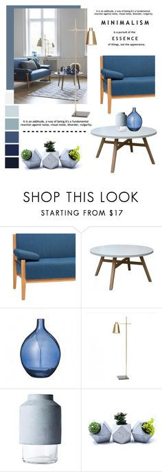 """Nordic Minimalism"" by viva-12 ❤ liked on Polyvore featuring interior, interiors, interior design, home, home decor, interior decorating, Hübsch, Bloomingville, Home and furniture"